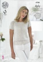 King Cole 4ply Knitting Patterns